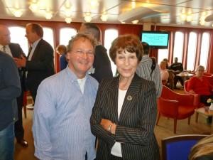 Ron van de Steen en Mies Bouwman