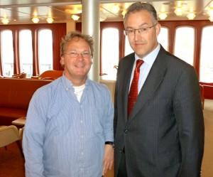Ron van de Steen en Burgemeester Aboutaleb
